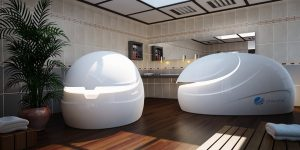 DreamPods in float centre